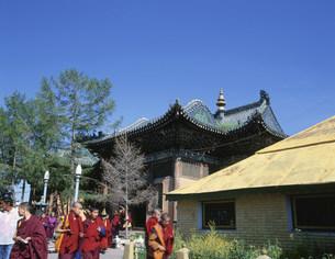 ガンダン寺の写真素材 [FYI04010963]