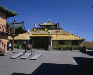 ガンダン寺の写真素材 [FYI04010966]