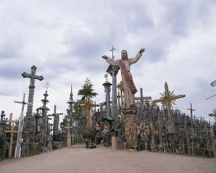 十字架の丘の写真素材 [FYI04010997]