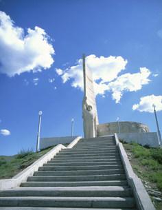 ソ連兵士記念碑の写真素材 [FYI04011133]