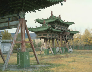 ガンダン寺の写真素材 [FYI04011204]