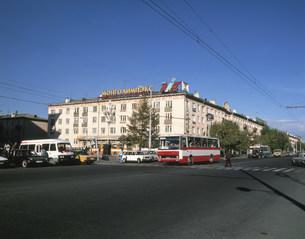 市内の風景の写真素材 [FYI04011206]
