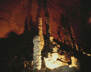 索渓峪の鐘乳洞 武陵源の写真素材 [FYI04011322]