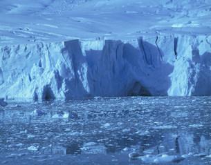 ニコ・ハーバーのデビル氷河の写真素材 [FYI04011426]