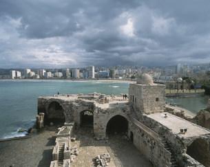 海の城の写真素材 [FYI04011489]