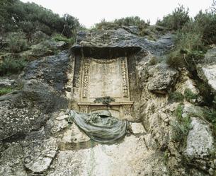 ラムセスⅡ世の記念碑文の写真素材 [FYI04011493]