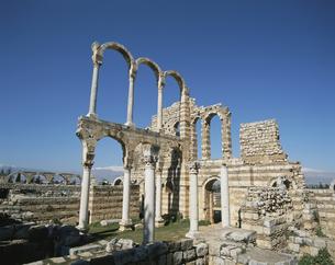アンジャルの遺跡 レバノンの写真素材 [FYI04011564]