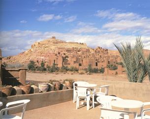 アイト・ベン・ハッドゥ村 2月 モロッコの写真素材 [FYI04011578]