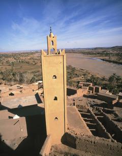カスバ ティフルトゥト 2月 モロッコの写真素材 [FYI04011580]