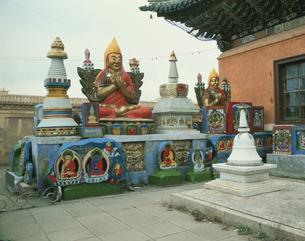 ガンダン寺 9月 ウランバートル モンゴルの写真素材 [FYI04011584]