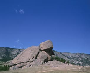 亀石 ウランバートル郊外 モンゴルの写真素材 [FYI04011591]
