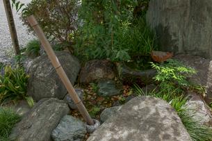 水琴窟 薬師のひびきの写真素材 [FYI04011727]