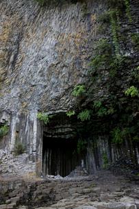 玄武洞の写真素材 [FYI04014205]