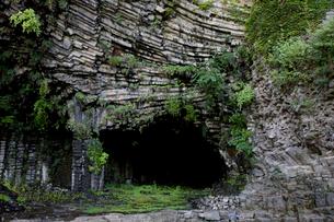 玄武洞の写真素材 [FYI04014206]