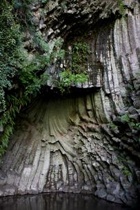 玄武洞の写真素材 [FYI04014209]