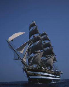 イタリア海軍練習帆船 アメリゴベスプッチ号の写真素材 [FYI04014508]