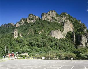 妙義山の写真素材 [FYI04014671]
