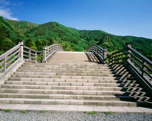 木曽の大橋の写真素材 [FYI04014738]