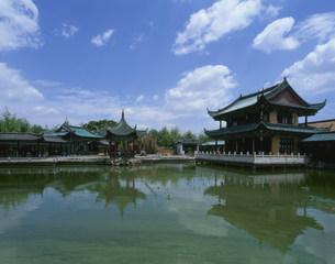 翠湖公園の写真素材 [FYI04015495]