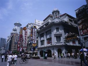 南京東路の写真素材 [FYI04016093]