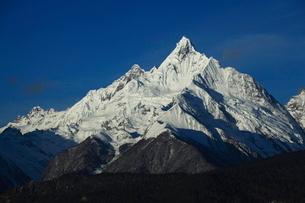 神女峰 梅里雪山の写真素材 [FYI04016322]