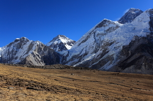 エベレスト山群の写真素材 [FYI04016725]