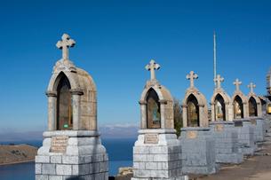 カルバリオの丘の十字架と祭壇の写真素材 [FYI04016808]