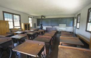 アーミッシュの学校の写真素材 [FYI04016841]
