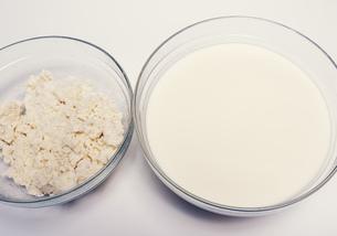 豆乳とおからの写真素材 [FYI04016948]