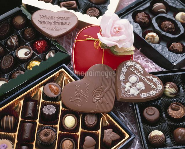 バレンタインチョコレートの写真素材 [FYI04017574]