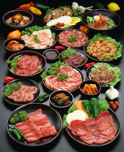 韓国料理 焼き肉の写真素材 [FYI04018269]