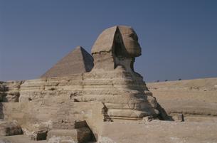 スフィンクス エジプトの写真素材 [FYI04018275]