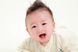 赤ちゃんの写真素材 [FYI04018482]