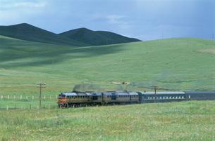 大陸鉄道 北京からモスクワの写真素材 [FYI04019017]