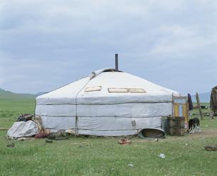 ゲル フブスグル県 モンゴルの写真素材 [FYI04019036]