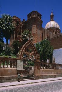 グアダルーペ聖母教区教会の写真素材 [FYI04019328]
