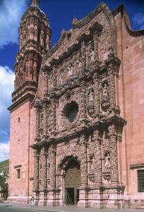 サカテカス大聖堂の写真素材 [FYI04019329]