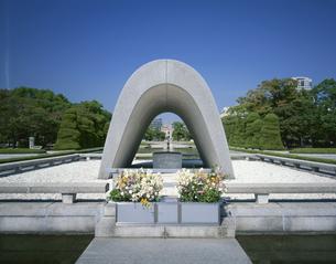 平和公園 広島市    10月の写真素材 [FYI04019883]