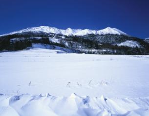 冬の御嶽山 木曽郡    2月の写真素材 [FYI04021068]