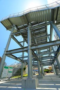 津波避難タワーの写真素材 [FYI04021777]