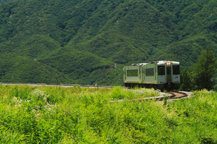 小海線の普通列車の写真素材 [FYI04021827]