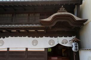 旧東海道舞坂宿脇本陣の写真素材 [FYI04022272]