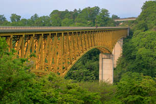 八ヶ岳高原大橋の写真素材 [FYI04022344]