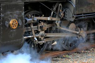 大井川鐡道の蒸気機関車の写真素材 [FYI04022443]