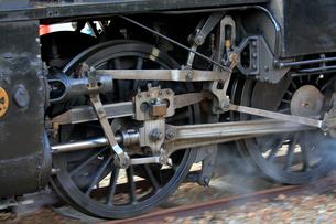 大井川鐡道の蒸気機関車の写真素材 [FYI04022444]