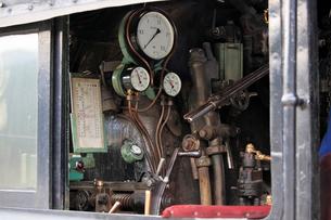 大井川鐡道の蒸気機関車の写真素材 [FYI04022446]