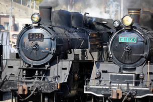 大井川鐡道の蒸気機関車の写真素材 [FYI04022492]