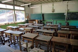 旧木沢小学校の写真素材 [FYI04022686]