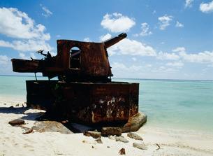 旧日本軍の砲台跡の写真素材 [FYI04023506]