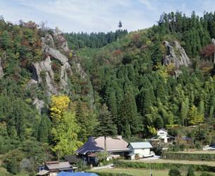 秋の立羽田の景の写真素材 [FYI04023802]